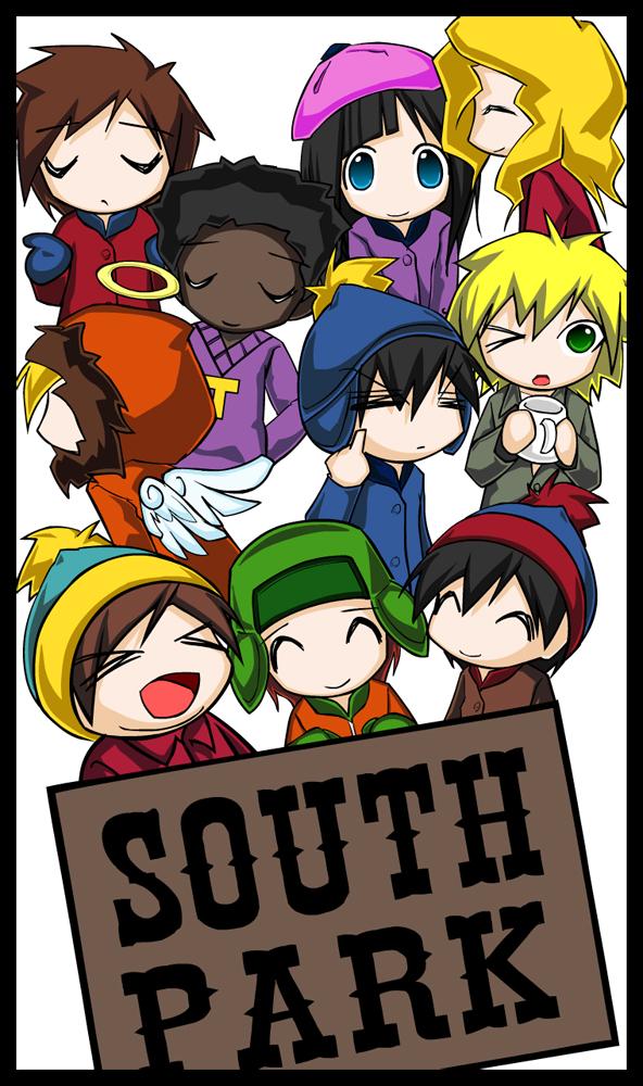 south park kids by m4kimaki