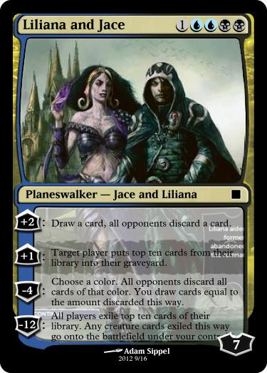 Liliana and Jace Planeswalker by vinio2323 on DeviantArt Planeswalker