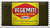Vegemite Stamp by ShipwreckedStamps