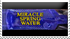 Miracle Water Stamp by ShipwreckedStamps