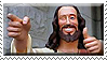 Buddy Jesus Stamp by ShipwreckedStamps