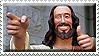 Buddy Jesus Stamp by ShipwreckedStamps