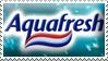 Aquafresh Stamp by ShipwreckedStamps