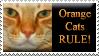 Orange Cats Stamp