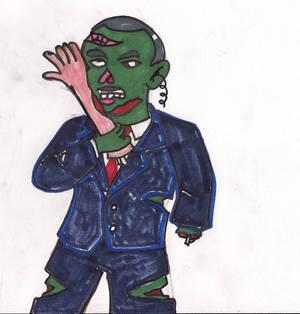 Zombie attrack.