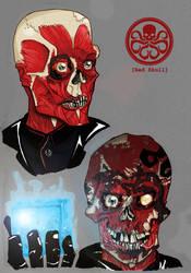 Red Skull Redesigns by ZachBobBob
