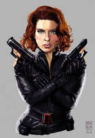 Black Widow by ZachBobBob