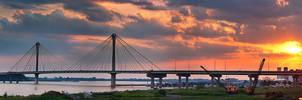 .:Clark Bridge Sunset:.