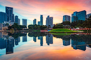 .:Kuala Lumpur Reflection:. by RHCheng