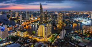 .:Bangkok Blue Hour:.