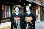 .:Geishas of Gion:. by RHCheng