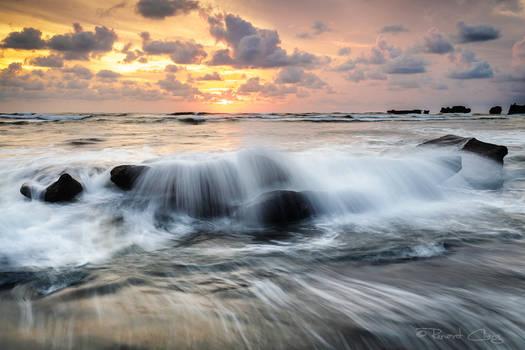 .:Mengening Beach Sunset:.