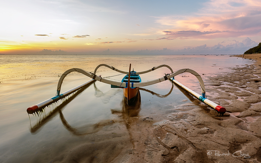 .:Lone Fishing Boat:. by RHCheng