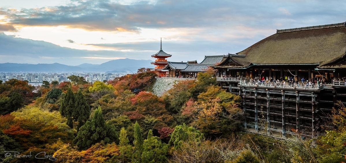 .:Kiyomizu-dera Temple 2:. by RHCheng