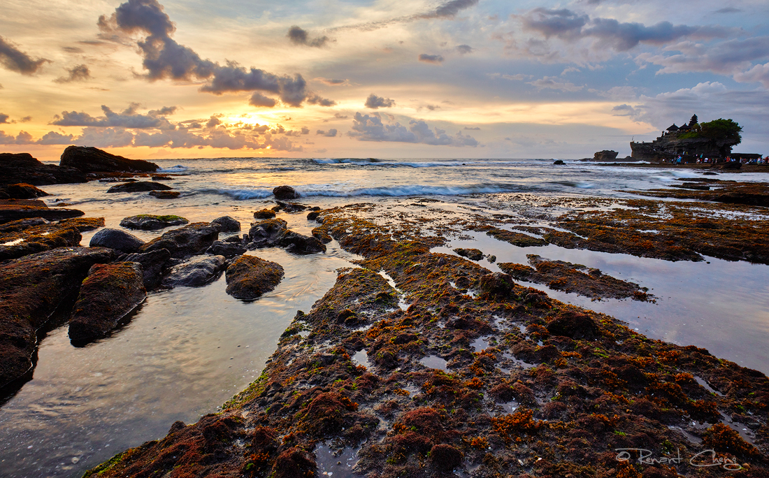 .:Tanah Lot Sunset:. by RHCheng