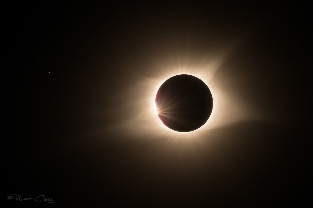 .:Near Totality 2017 Eclipse:.