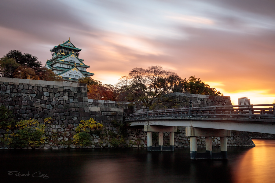 .:Osaka Castle I:. by RHCheng