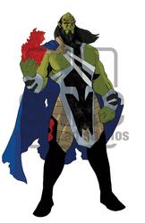 AoV: Masterminds #3 Devastator by Sketchpad-D
