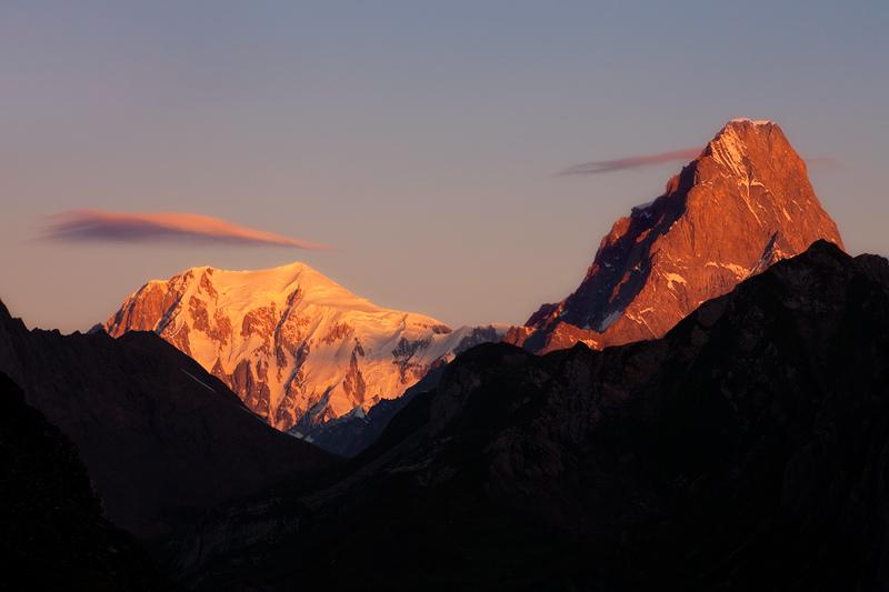Mont Blanc - Grandes Jorasses by RobertoBertero