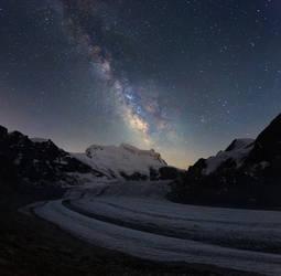 Milky Way over Grand Combin
