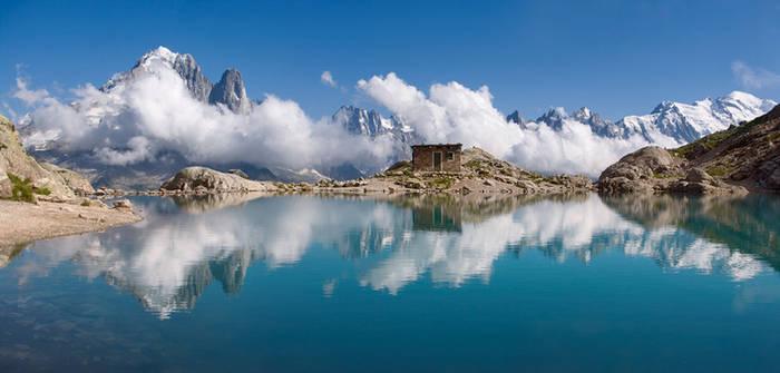 Lac Blanc par l'Aiguillette d'Argentiere