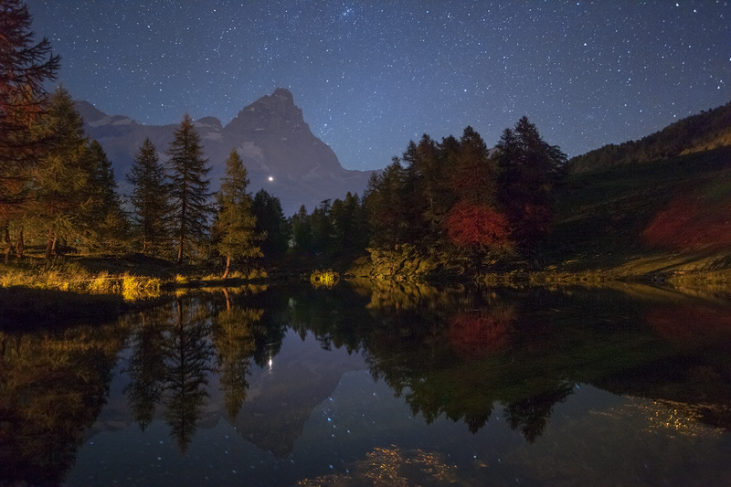 Matterhorn in the Mirror by RobertoBertero