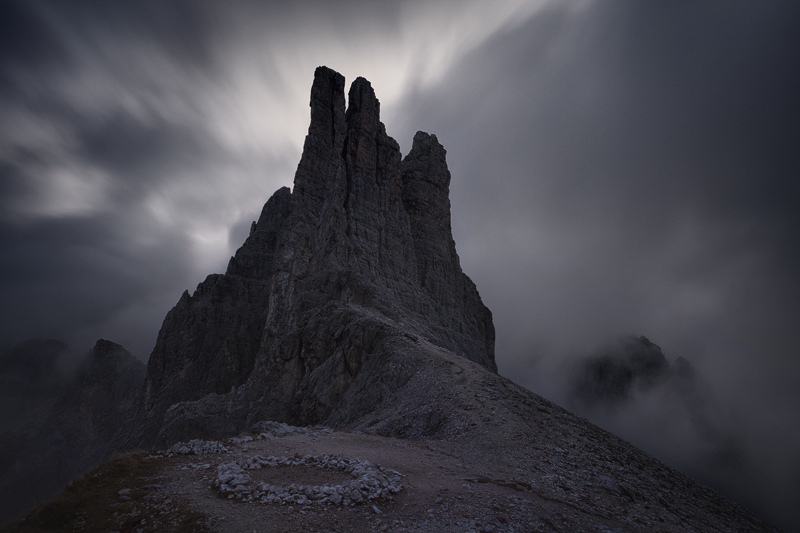 Vajolet Towers by ~RobertoBertero
