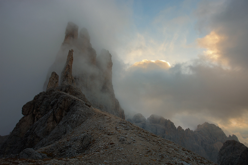 Fortress in the Clouds by RobertoBertero