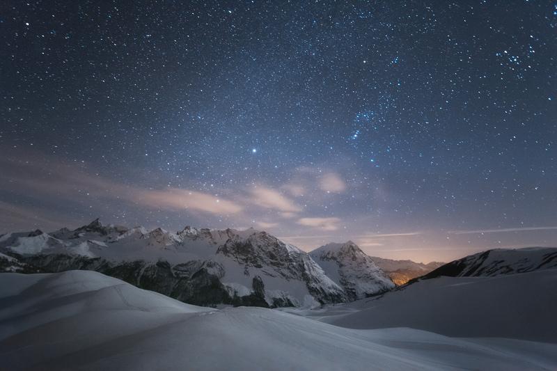 The Winter Sky by RobertoBertero