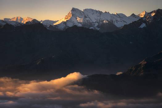 Grande Rousse at Dawn