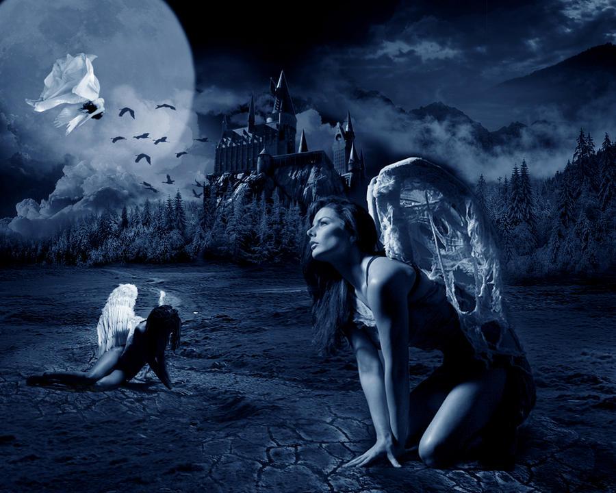 Fallen angels by DanieOpheliac