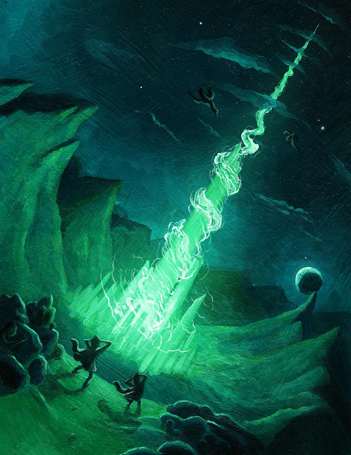 Minas Morgul Book Cover by seancruz