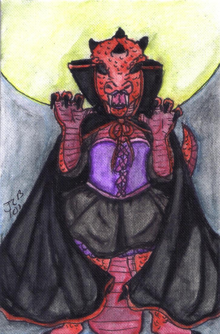 vampire dragon by iris1999