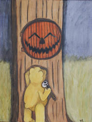 Pooh needs help