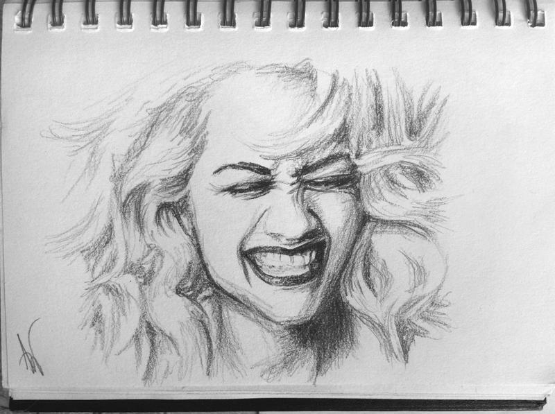 Rita Ora by Nnusia