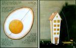 Eggs over Houses