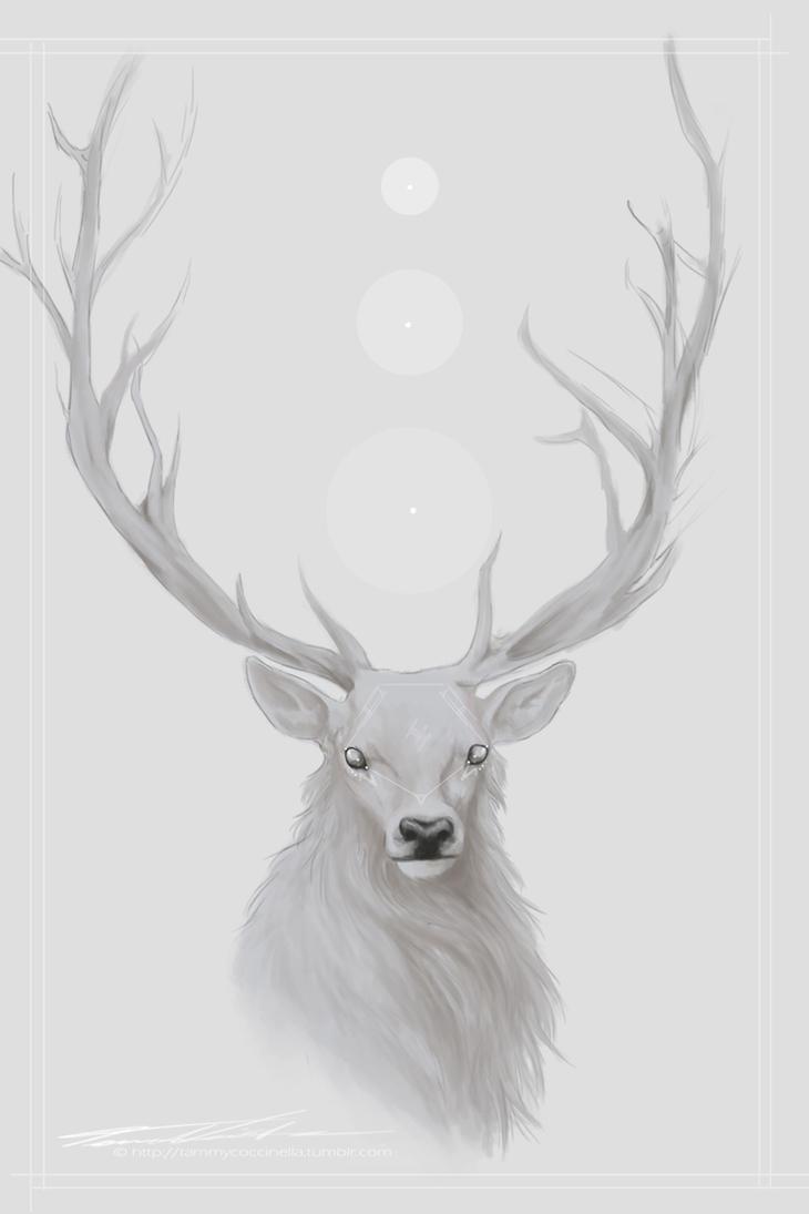 White Deer by xStolenInnocencex