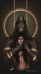 Anubis and Ahmanet by xStolenInnocencex
