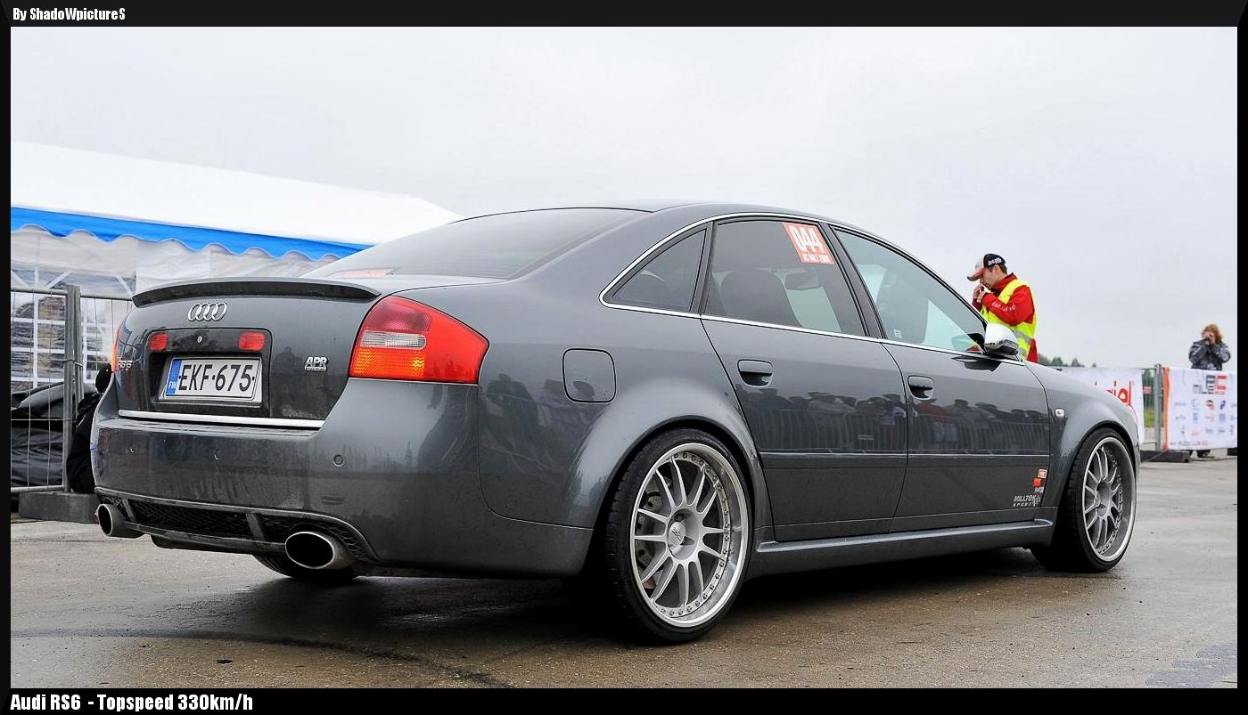 World Fastest Last Generation Audi Rs6