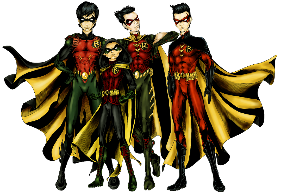 Dick Grayson New 52 Robin CostumeDick Grayson New 52 Nightwing