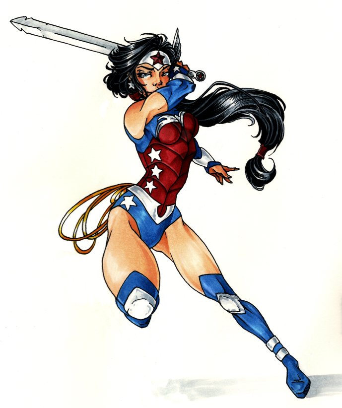 Wonder Woman [Justice League: War] by batcheeks