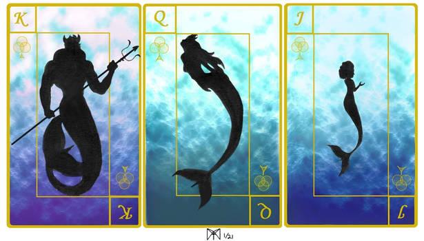 mermaid Playing Cards