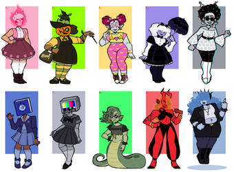 Monster Girl Adopts (CLOSED) by infernal--Heart