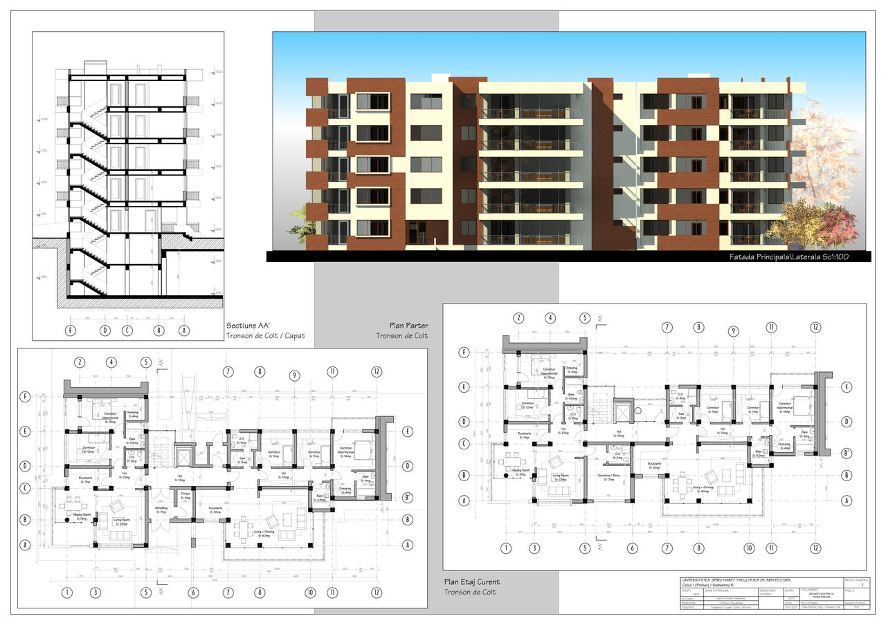 Multistorey apartment building by axeliix on deviantart Apartment building construction plans