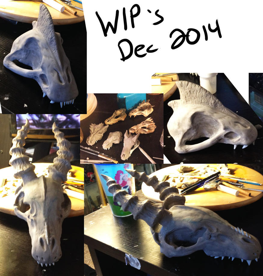 Skulls WIP 2 by MLPEndlessNight
