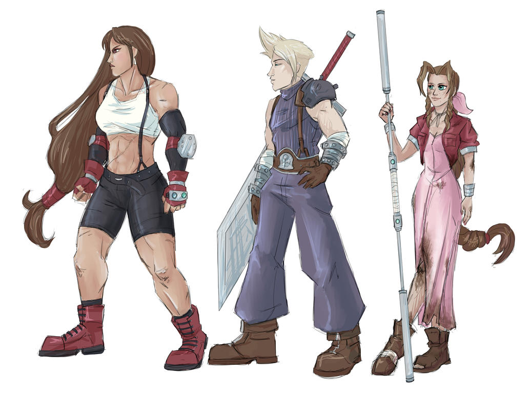FF7 - Headcanons by MLPEndlessNight