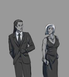 FF7 - Wow You Got Elena Into A Dress