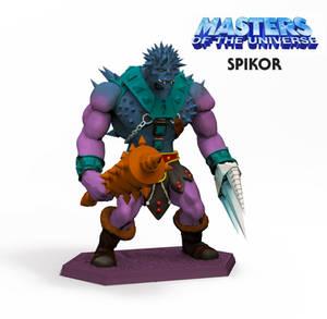 Spikor Staction WIP (color mock up)