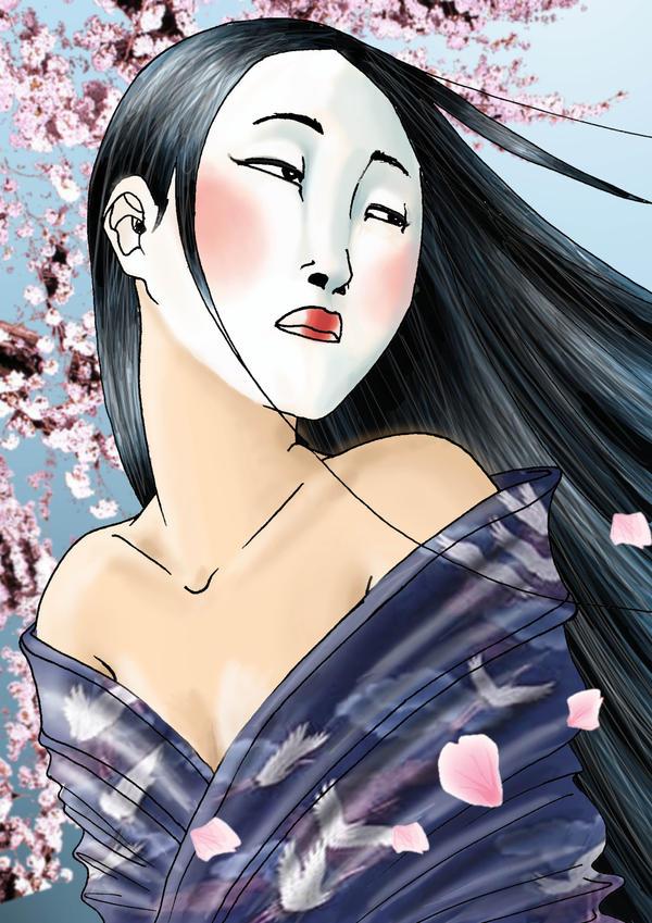 geisha by ratapimientoide