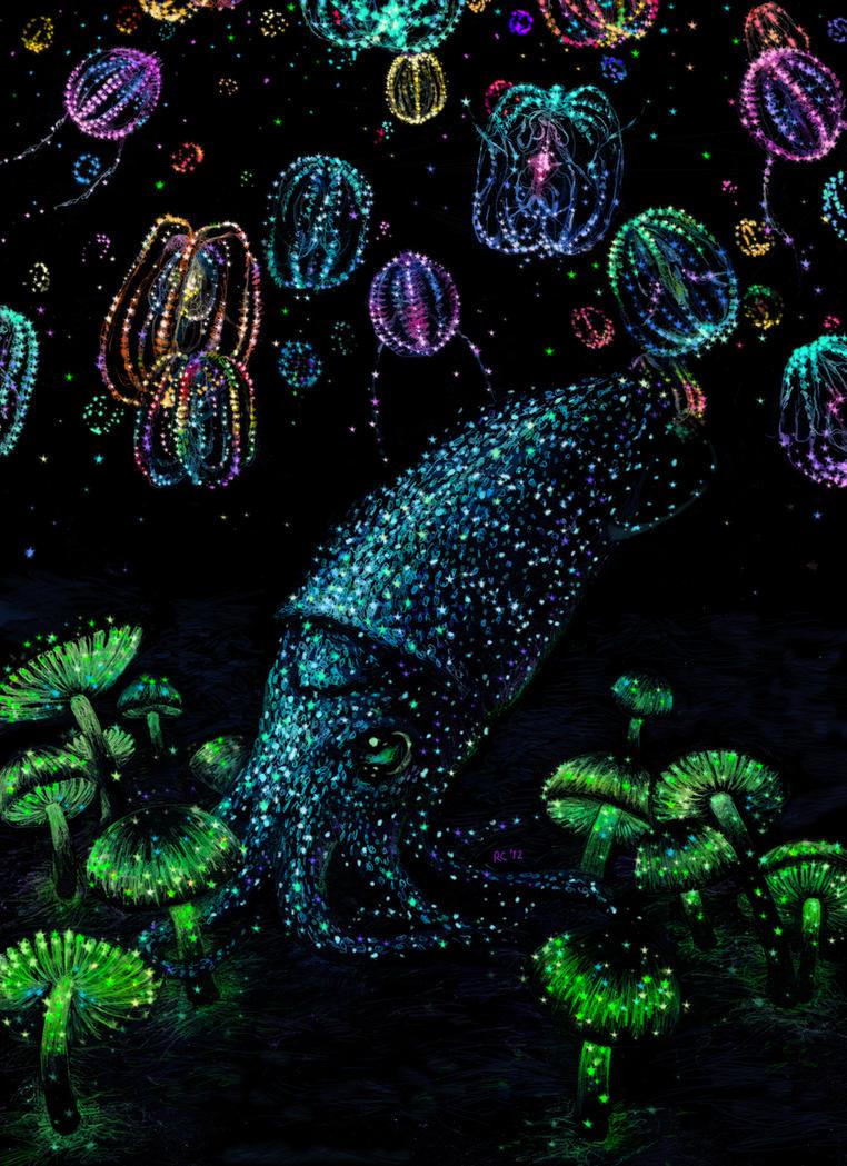 bioluminescence by Banvivirie